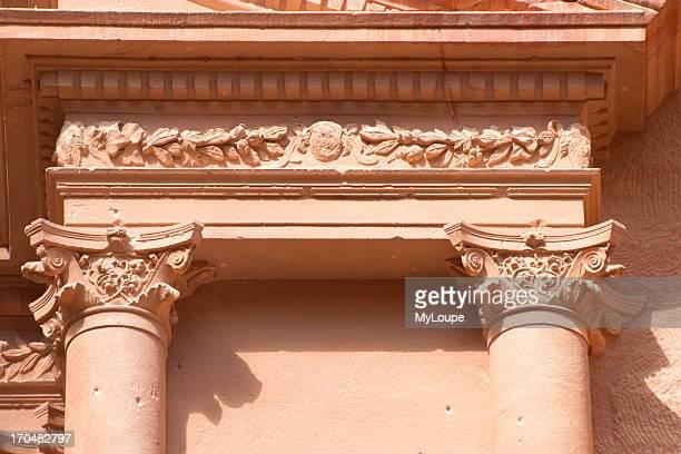 Detail from the Treasury Petra Jordan