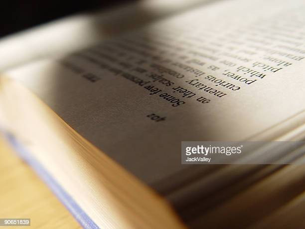 Detail of a book