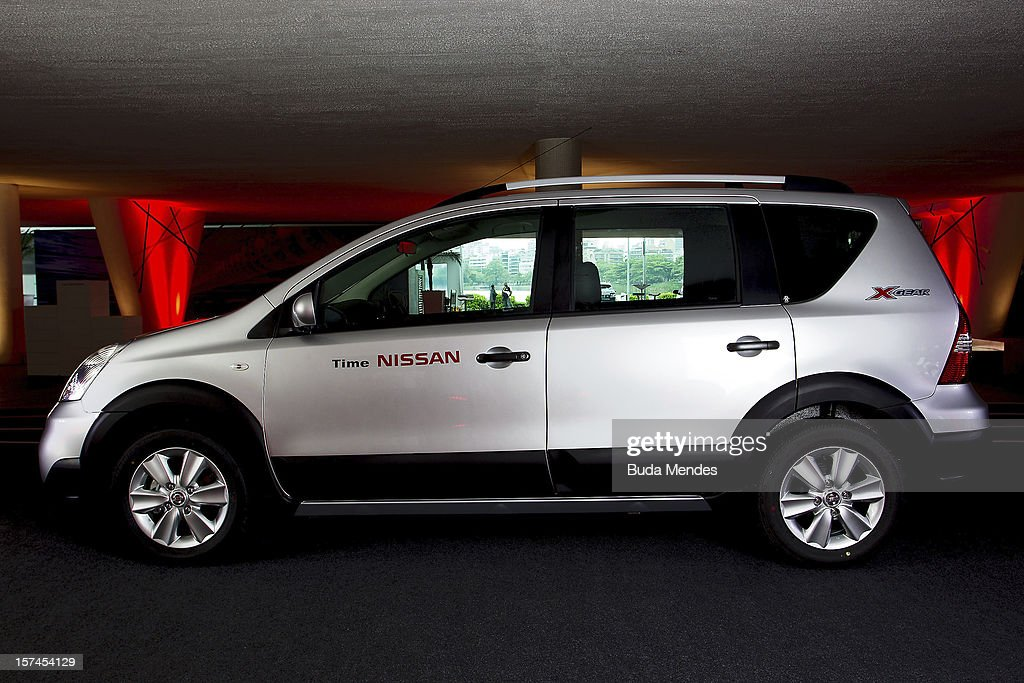 Detail of a car during the presentation of Team Nissan for Rio de Janeiro Olympics Games 2016 at Cine Lagoon on November 27, 2012 in Rio de Janeiro, Brazil.