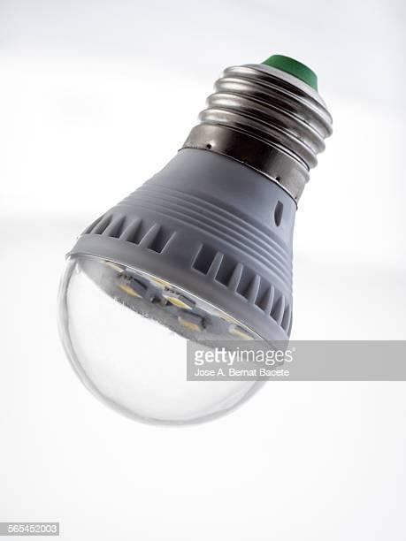 Detail of a modern LED lamp.