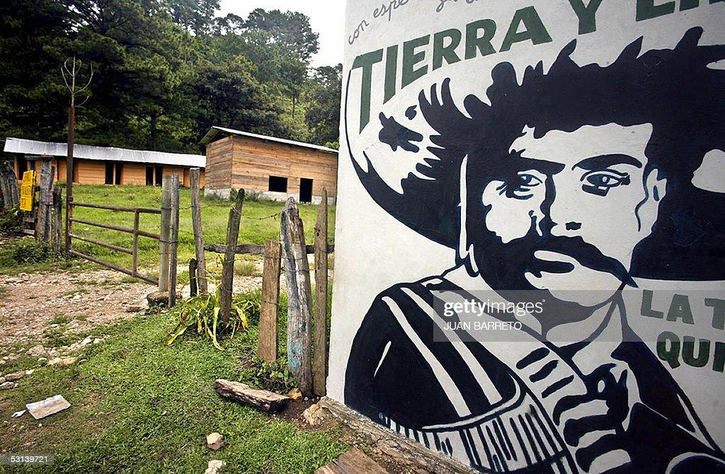 Emiliano zapata getty images for Emiliano zapata mural