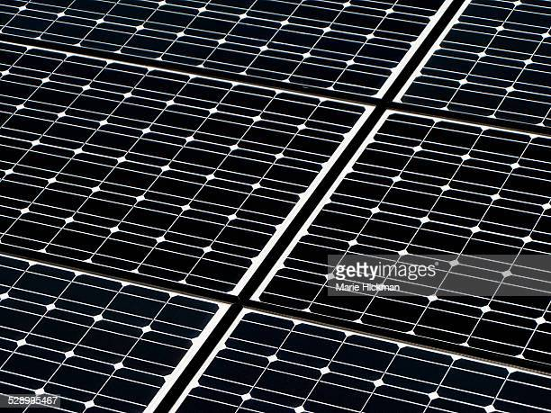 Detail of a new solar panel