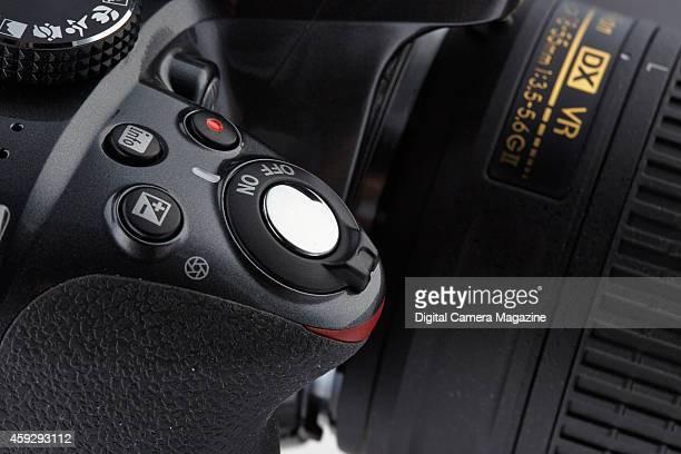 Detail of a Nikon D3300 DSLR taken on April 17 2014