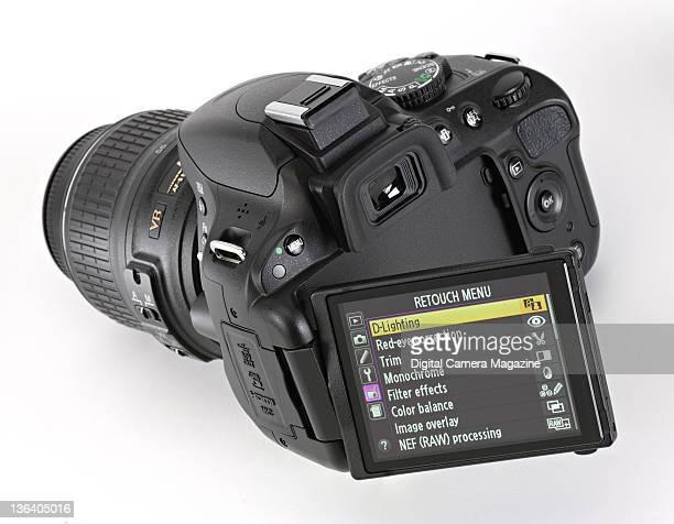 Detail of a Nikon D5100 digital SLR taken on April 21 2011