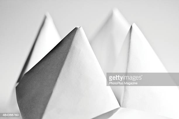 Detail of a paper fortune teller taken on May 14 2014