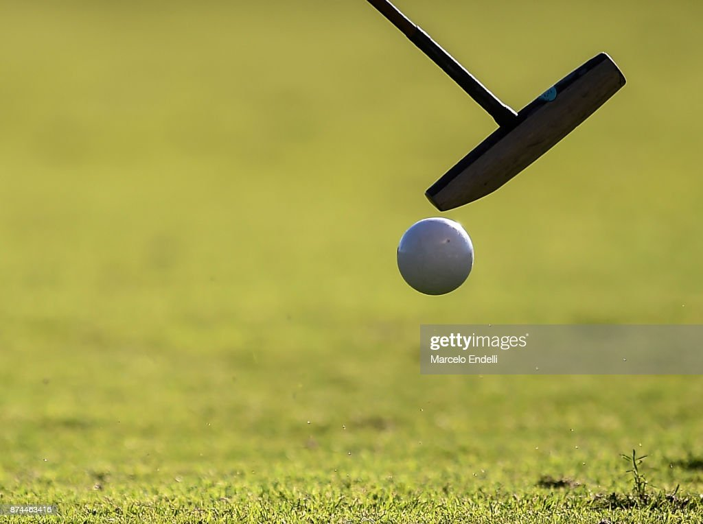 Detail of a polo mallet during a match between La Dolfina and La Albertina as part of the HSBC 124°° Argentina Polo Open at Campo Argentino de Polo on November 11, 2017 in Buenos Aires, Argentina.