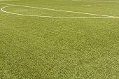 soccer field in detail