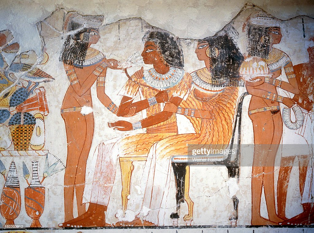 Nebamun getty images for Ancient egyptian mural paintings