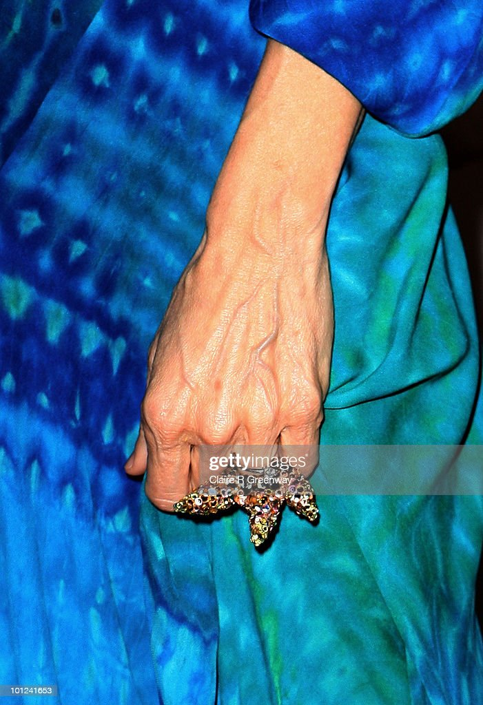 A detail of actress Sarah Jessica Parker as she attends the after party following the UK premiere of 'Sex And The City 2' at The Orangery, Kensington Gardens on May 27, 2010 in London, England.