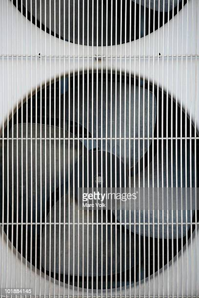 Detail of an industrial fan
