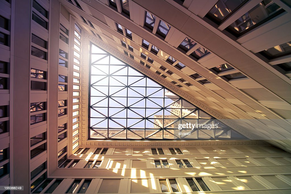 Detail of an office building : Stock Photo