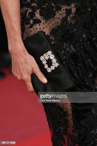 Detail of Andie MacDowell 's handbag at the 'The Killing Of A Sacred Deer' screening during the 70th annual Cannes Film Festival at Palais des...
