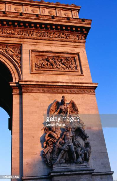 Detail of Arc de Triomphe.