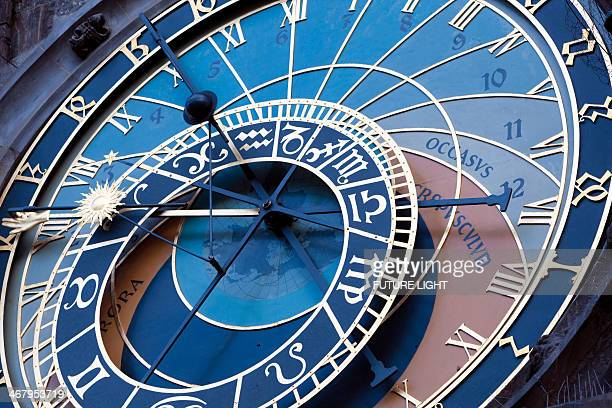 Detail of Astronomical Clock Prague Town Hal