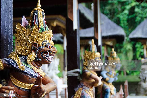 Detail of balinese temple