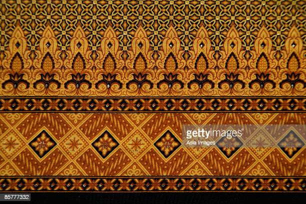 Detail of batik fabric