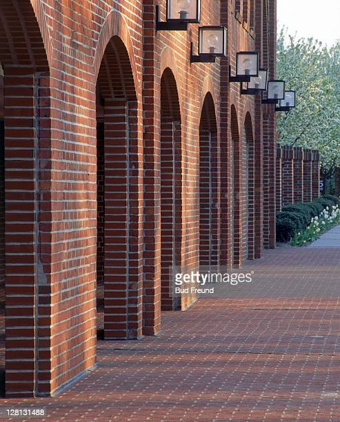 Detail of brick arches, CT
