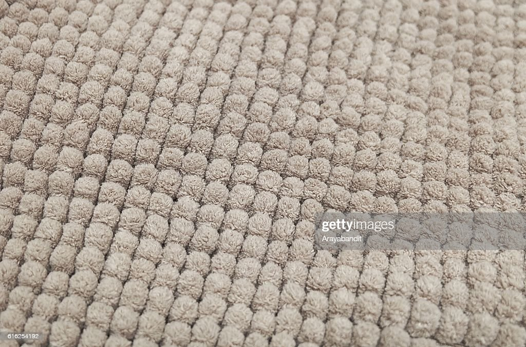 Detail of Brown Fluffy Fabric Texture Background : Foto de stock