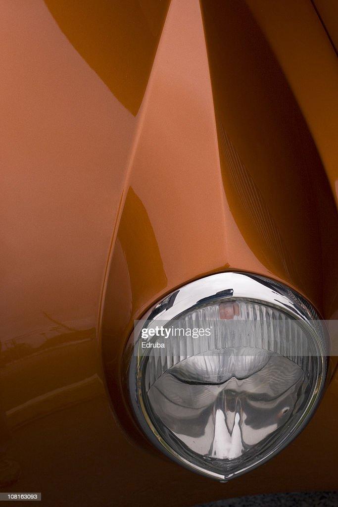 Detail of Car Headlight : Stock Photo