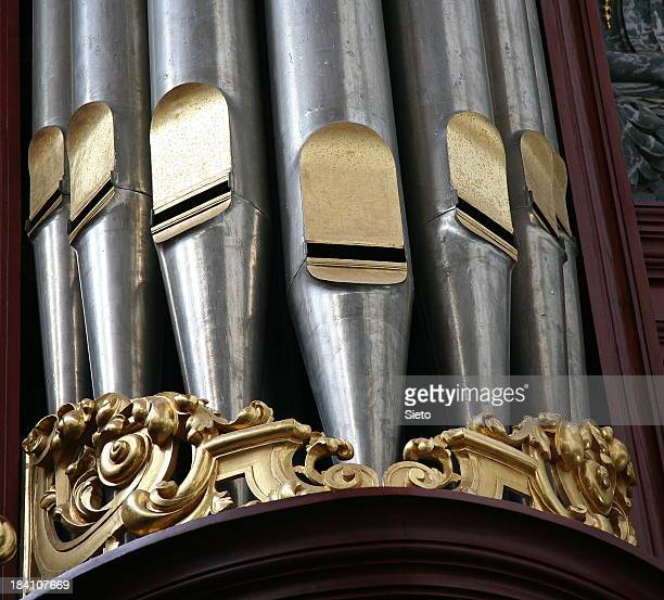 Detail of church organ
