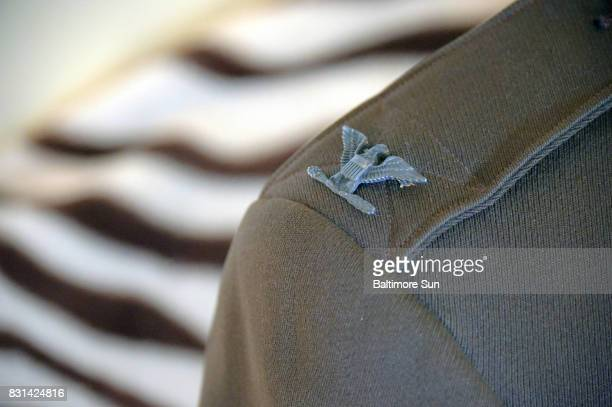 Detail of Col Arthur Lee Shreve Jr's Army uniform Heather Shreve who recently received a uniform from a collector who had purchased an Army colonel's...