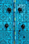 Detail of door in Sidi Bou Said