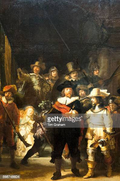 Rembrandt 'The Night Watch', Rijksmuseum, Amsterdam