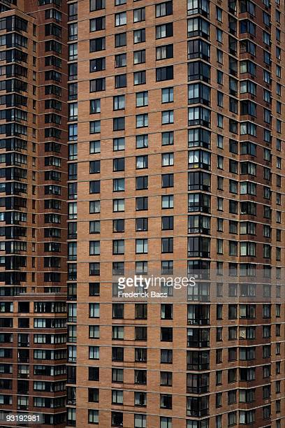 Detail of high rise-buildings, Manhattan, New York City, USA