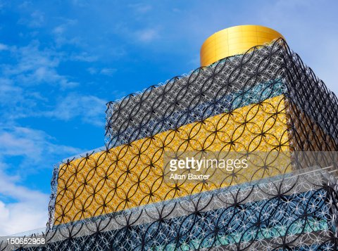 Detail of 'Library of Birmingham' : Stock Photo
