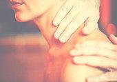 Detail of massage