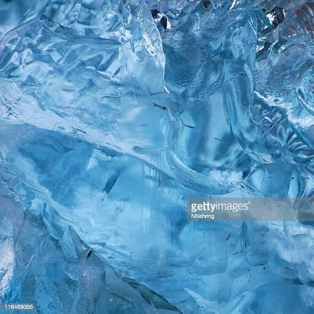 detail of melting iceberg