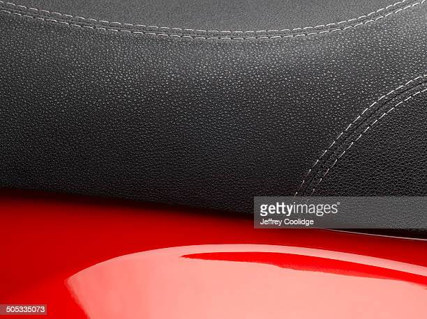 Detail of Moped Seat