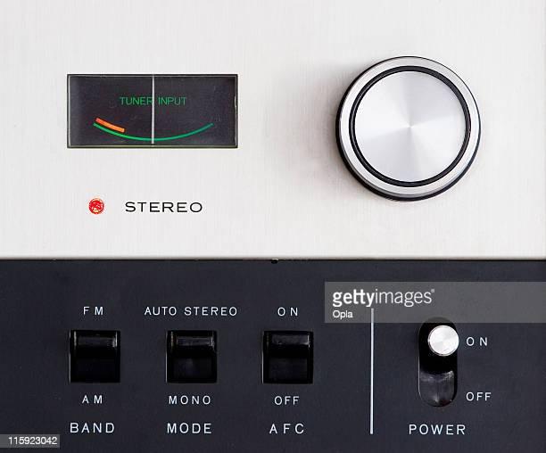 Detail of radio