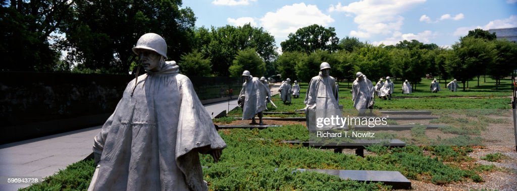 Detail of Soldiers from Korean War Veterans Memorial
