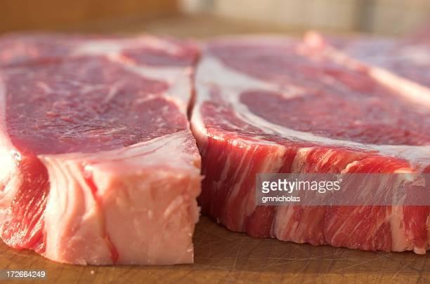 detail of steak