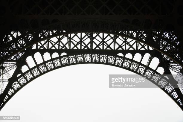 Detail of structure of Eiffel Tower