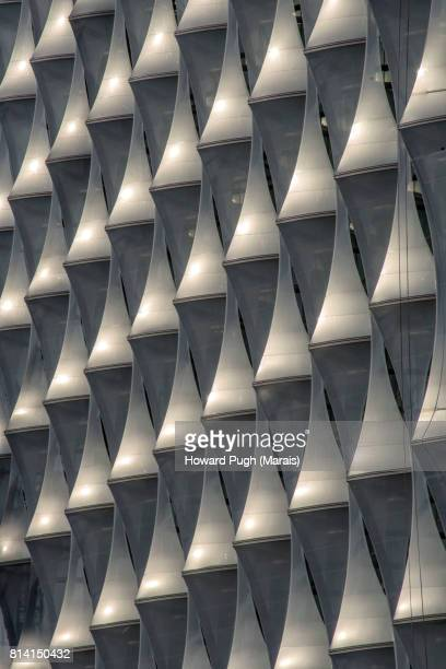 Detail of the American Embassy, Riverside, South West London