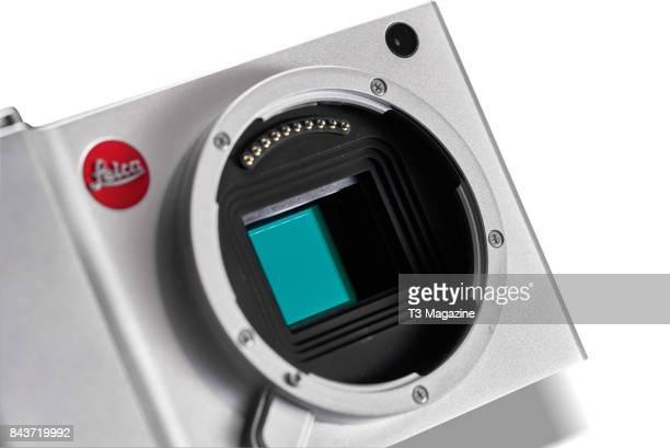 Detail of the APSC sensor on a Leica TL mirrorless digital camera taken on January 18 2017