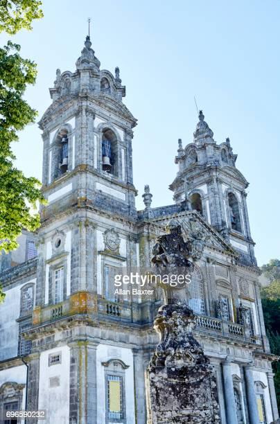 Detail of the baroque 'Bom Jesus do Monte' in Braga