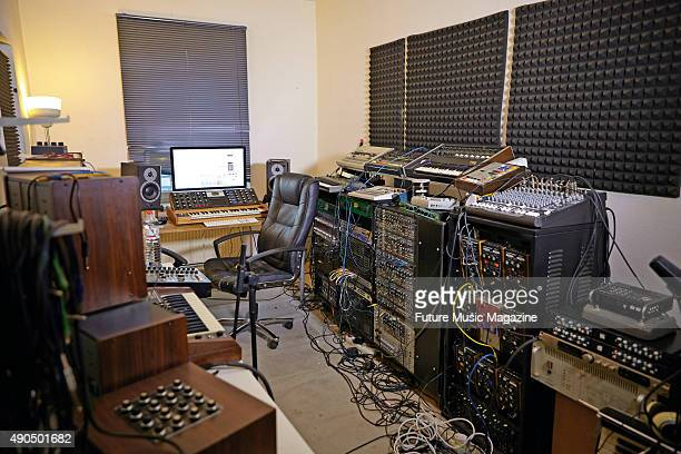 electronic music stock photos and pictures getty images. Black Bedroom Furniture Sets. Home Design Ideas