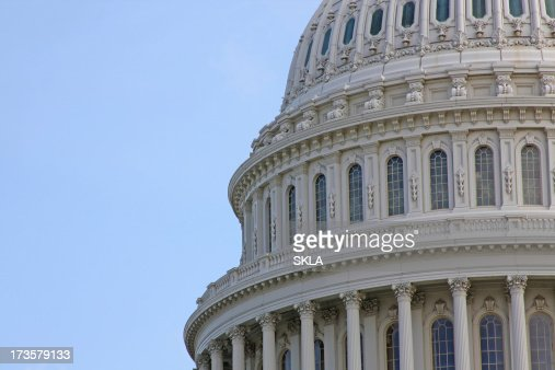 Detail of The Capitol in Washington DC (USA)