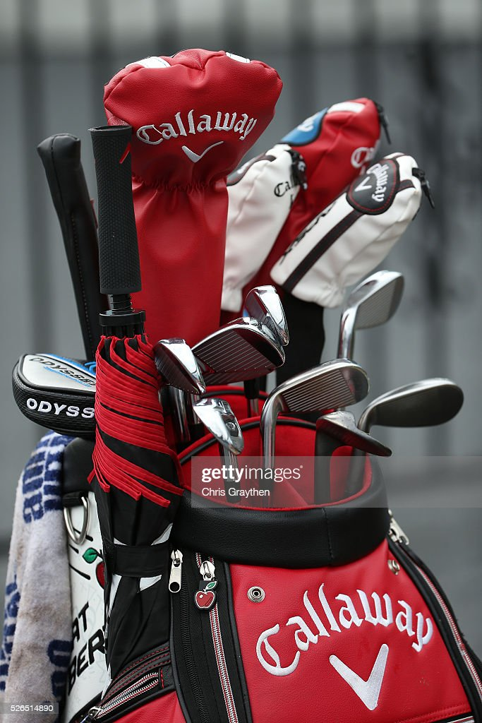 A detail of the clubs used by Brian StuarDUPLICATEBrian Stuardduring the continuaiton of the second round of the Zurich Classic of New Orleans at TPC Louisiana on April 30, 2016 in Avondale, Louisiana.
