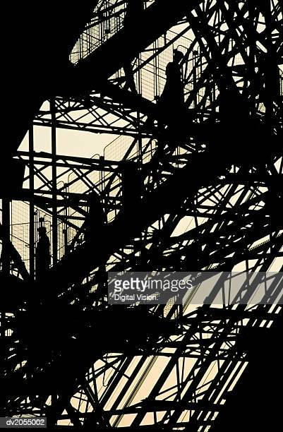 Detail of the Eiffel Tower, Silhouette
