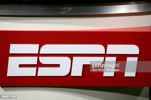 Detail of the ESPN logo