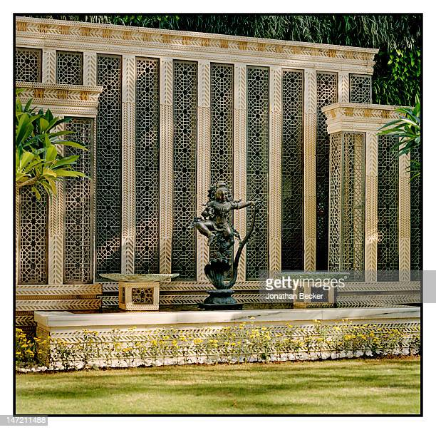Detail of the home of business woman and founder/chairperson of Dhirubhai Ambani International School Nita Ambani is photographed for Vanity Fair...