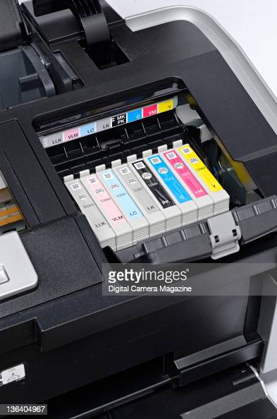 Detail of the ink cartridge port on an Epson Stylus Photo R2880 printer session for Digital Camera on May 3 2011