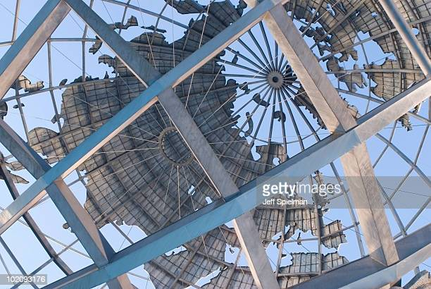 Detail of the Unisphere, Queens, New York City
