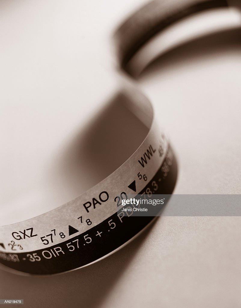 Detail of Ticker Tape : Stock Photo