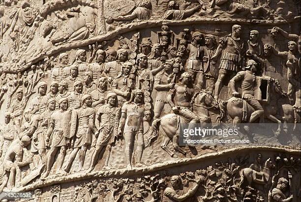 Detail of Trajans Column Rome
