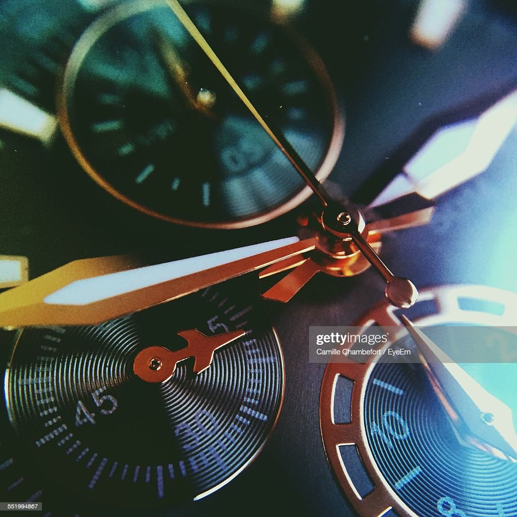 Detail Of Wristwatch